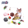 Funny Christmas Pet Dog Toys Set Mouse Toys for Cats Dogs
