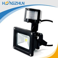 high lumen 10w outdoor led flood light with sensor led lamp for the house