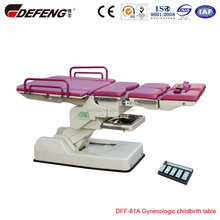 DEF-81A Multi-functional gynecology checkup chair
