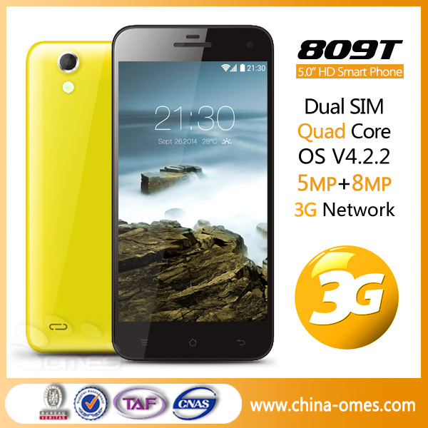 809T 3G android cheap celulares best 8mp camera smart phone