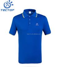 Oem Customer Men's Latest Hot Sales Quick Dry Short Sleeve Polo T-shirt Sport t Shirt 100%Polyester in China