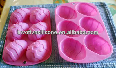 For microwave cake pink egg tart silicone cake mold