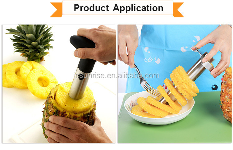 Pineapple Slicer and Corer of Stainless Steel Material