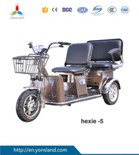CCC electric tricycle for 2 person disabled electric scooter/Tuk tuk smart electric scooter with 3 wheel