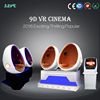 Cool funny 9d machine 9d theater movie vr 9d cinema vr egg 6 seats/3seats/2seats