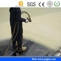 Liquid Polyurethane Spray Foam Insulation isocyanate Raw Material For Building