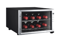JC-23 Wine Cooler stand Upright vertical open glass door Display Chiller Refrigerating freezer for beverage and wine