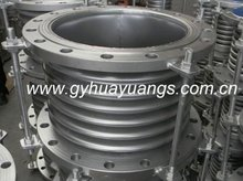 metallic pipe bellows expansion joint