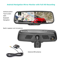 car gps maps download google play store touch screen monitor rearview mirror gps navigation