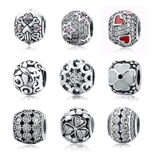 Wholesale real silver jewellery european charms for bracelet jewelry making / custom made 925 sterling silver charms