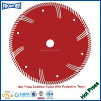 hot pressed diamond saw balde for road cutting
