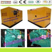 Low noise consumption top quality 20-1500kva with original cummins engine electric silent diesel generator