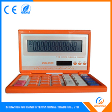 Wholesale Gift Solar Cell Desktop Customized Plastic Calculator
