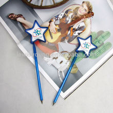Customized shape pen lucky star ball pen with logo for promotion