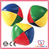 ICTI Factory wholesale custom classic pvc leather juggling ball