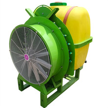 Four-wheel tractor belt air - fed grapevine mist machine orchard insecticidal spray