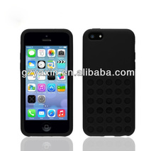 Popular Super Slim Polka Dot case for iphone 5c stock,for iphone 5c soft silicone case