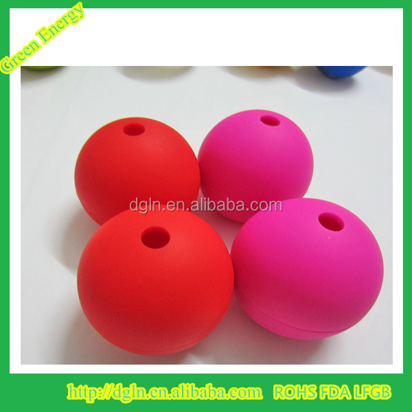 custom made cheap silicone ice ball mold/ice ball maker