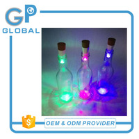 Multi Colour LED Garden Bottle String