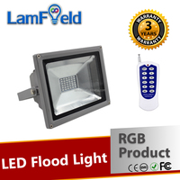 Perfect Tchnology DMX512 RF IR Control 20W LED RGB Flood Light For Garden Lighting