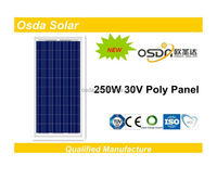 high efficiency 250w solar modules
