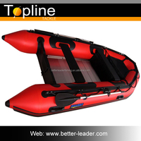 China Fishing Yacht Inflatable Boat With Motor