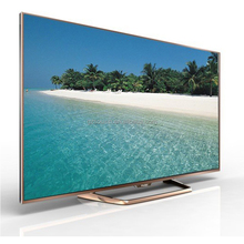 Ultra ince Dev düz kavisli ekran 4 k 3d LED TV