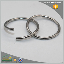 Small Size Open Metal O-Ring for Clothes