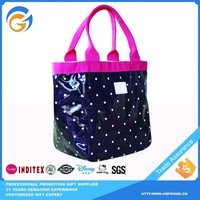 China Wholesale Handbags PVC Tote Bag with Button