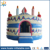 Huale newest design inflatable cake bouncy castle/ used commercial bounce houses for kids fun