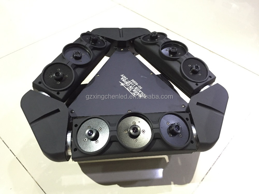 Nine/9eyes rgb full color laser light /9eyes moving head laser