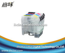 Lifei empty Refillable ink cartridge LC121 for Brother MFC-J470DWJ752DW/J650DW/J870DW/J245(Germany) DCP-J132W with reset chip