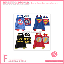 costumes superman spiderman capes for kids Halloween