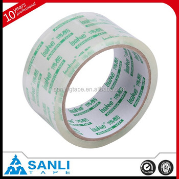 Super Clear Sealing Tape Single Sided Adhesive Side