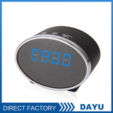 Promotion Clock Camera P2P Connect With Mobile Phone Hidden Camera H.264 720P Hidden Camera With Voice Recorder