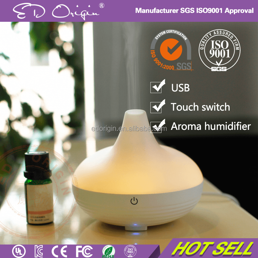 Automatic Mini Fan Spray Atomization Fragrance Diffuser Machine Ceramic Flower Warm & Cool Mist Humidifier
