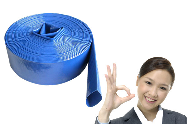 UV Resistant Non-toxic Flexible PVC Layflat Hose For Agriculture Irrigation