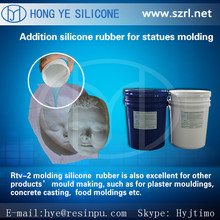 rtv2 mold making liquid silicon for concrete,cement, gypsum architecture reproduction