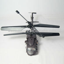 black hawk design nice full plastic appearance with gyroscope rc helicopter black hawk