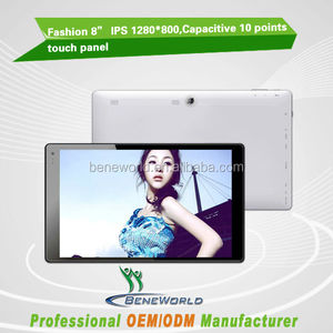 "Narrow LCD 8"" IPS 1280*800P intel bay trail tablet pc with windows 8.1 OS"
