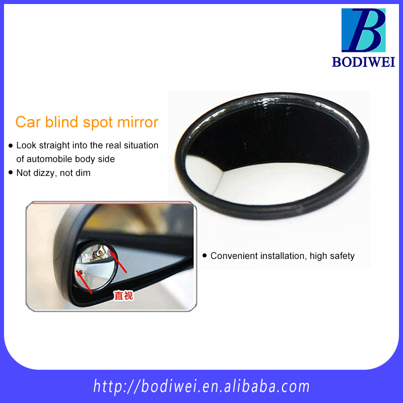 "Hot universal 2"" 50mm car rear view mirror blind spot mirror"