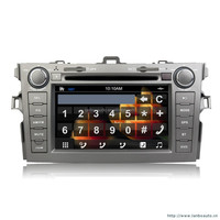 Full touch sreen car dvd with GPS Navigation for Toyota Land Cruiser 200 2008-2010 car audio radio bluetooth 3g car dvd