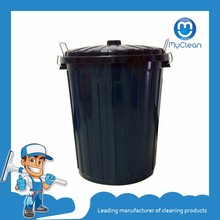 Plastic Clean Custom Painted 80l Trash Bin