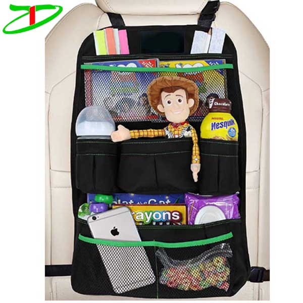 Auto back of seats organizer accessories protector backseat car seat organizer for kids