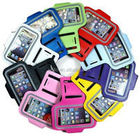 10 colors Waterproof Sport armband case for iphone 5 in Neoprene meterial