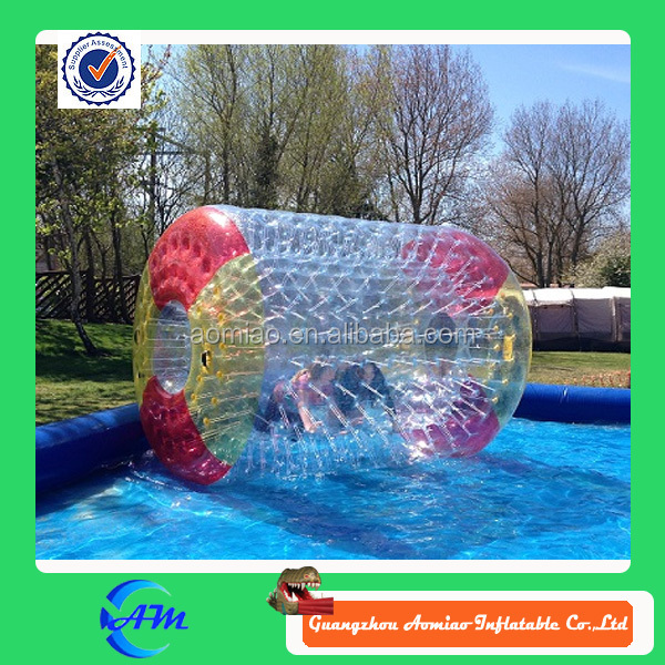 Wholesale inflatable water walking balls with pool, cheap inflatable water rolling ball for sale