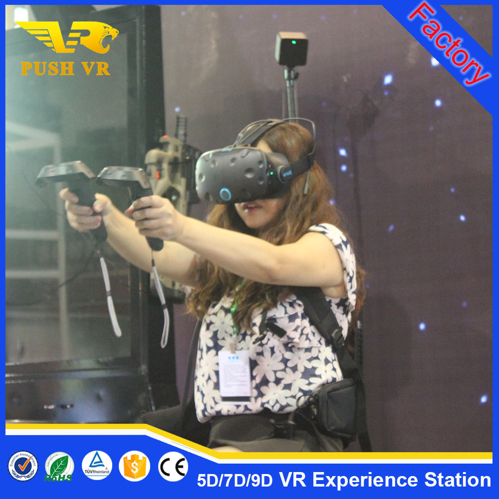 HTC Vive Virtual Reality VR Game Machine 9d vr game equipment shooting simulator with computer