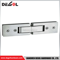 Hot sale stainless steel 180 degree glass to glass shower European style glass door hinge