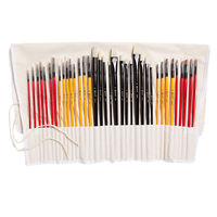 professional watercolor acrylic art paint brushes set supplies