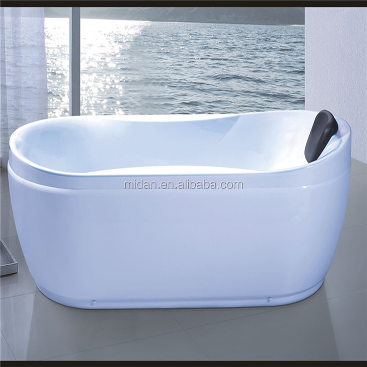 Cheap price Rectangular comfortable luxury acrylic bathtub Modern fancy bathroom wares/ small acrylic bathtub
